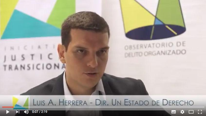 Luis Alfonso Herrera – Justicia Transicional