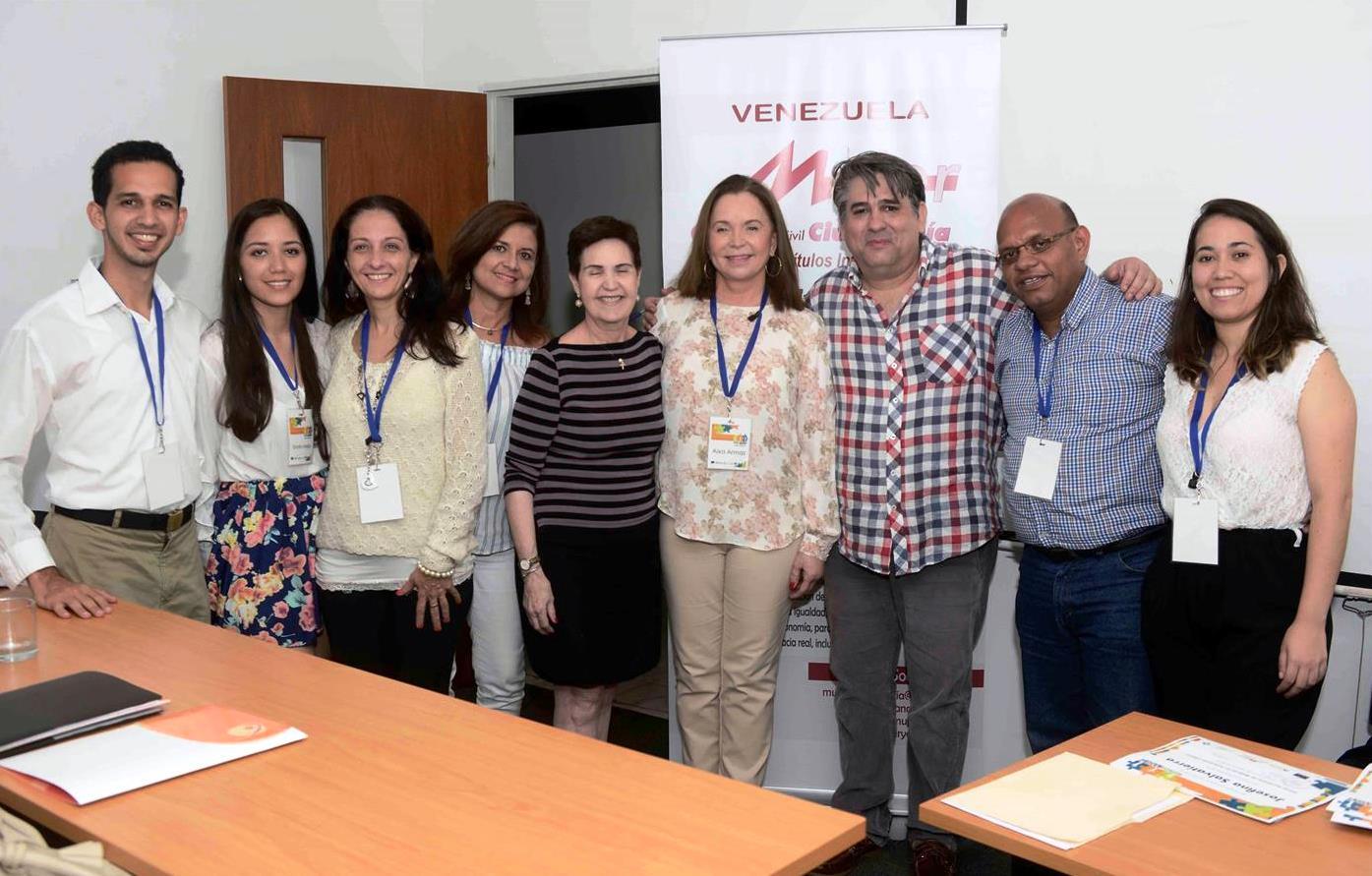 Mujer Y Ciudadanía A.c, People In Need, Oportunidad Y La Universidad Monteávila Realizaron El Primer Seminario Para Mujeres En Posiciones Claves En El Nacional