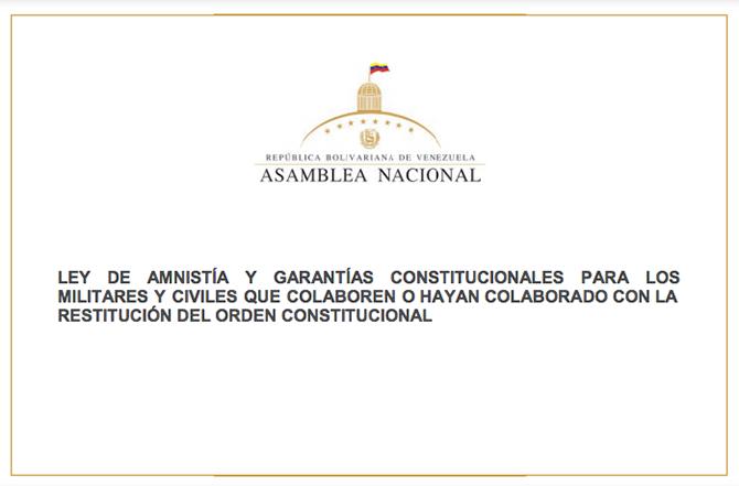 Ley Amnistia
