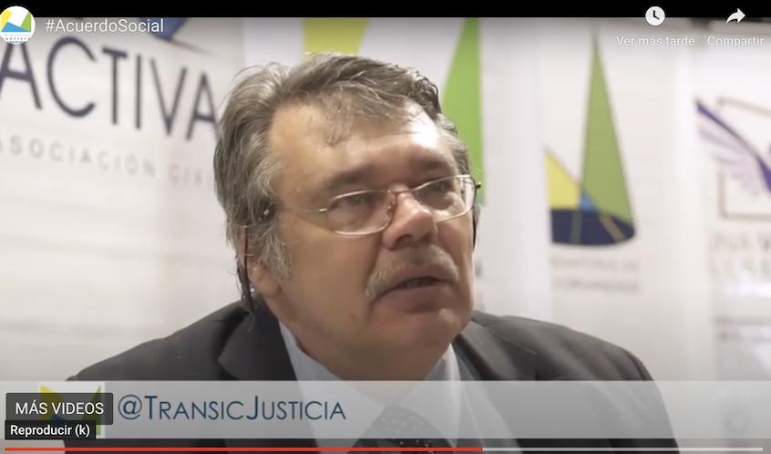 Flavio Carucci – «La Concurrencia De Los Distintos Sectores Y Liderazgos Del Paísen Un Amplio Pacto Social»