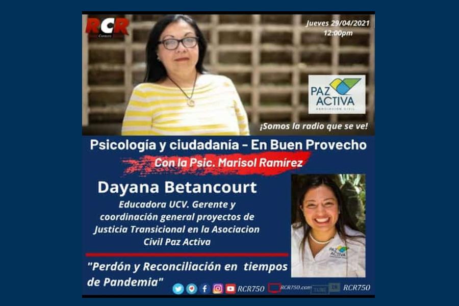 RCR750 – Psicología Y Ciudadanía | ESCUELAS De PERDÓN Y RECONCILIACIÓN – Paz Activa