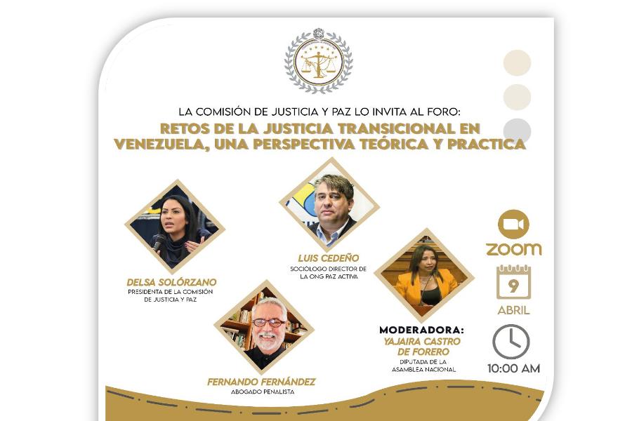 Foro: Retos De La Justicia Transicional En Venezuela, Una Perspectiva Teórica Práctica (Vídeo)