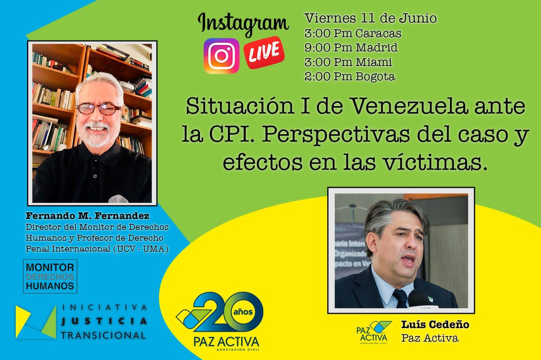 VÍDEO – «Situación I De Venezuela Ante La CPI. Perspectivas Del Caso Y Efecto En Las Víctimas»