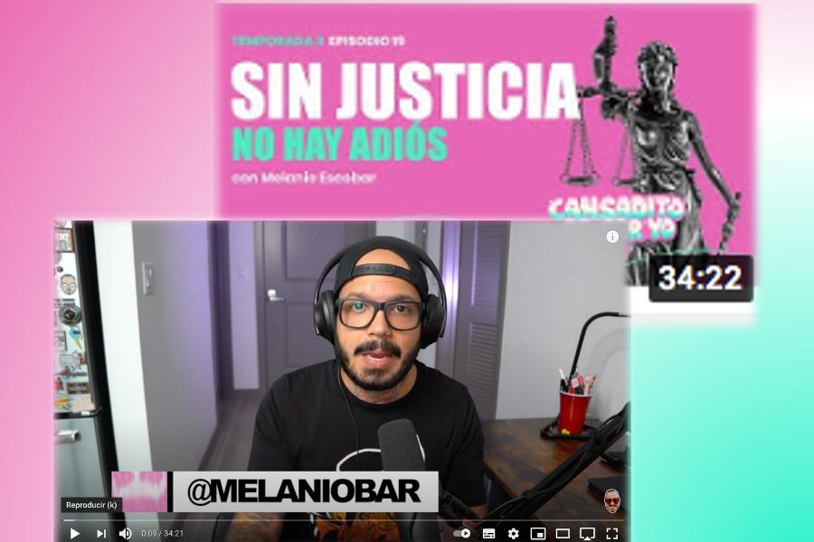 Melanio Escobar – Sin JUSTICIA, No Hay Adiós