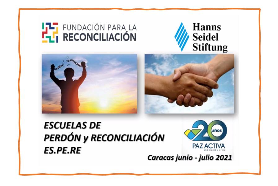 21 Personas Capacitadas En La 5ª Serie De Las Escuelas De Perdón Y Reconciliación – ES.PE.RE.
